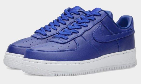 Фото Nike Lab Air Force 1 Low синие - 3